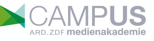 CAMPUS ARD.ZDF medienakademie
